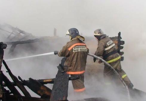 ВВольске напожаре умер мужчина
