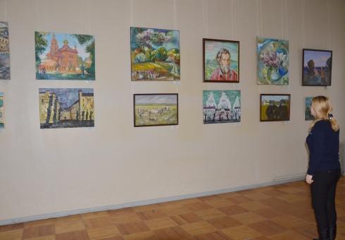 ВВольске выставили картины 70 живописцев с«Хвалынских этюдов»