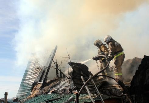 Впожаре наулице Рабочей задохнулся мужчина