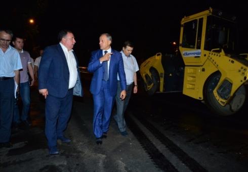 Валерий Радаев поручил закончить ремонт асфальта наулице Чапаева кначалу сентября