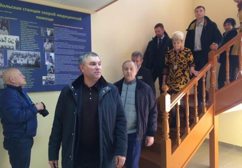 Сайт Государственной думы анонсировал приезд Вячеслава Володина вСаратовскую область
