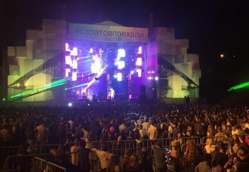 Фестиваль первокурсников «Поехали» собрал 25 тыс. человек