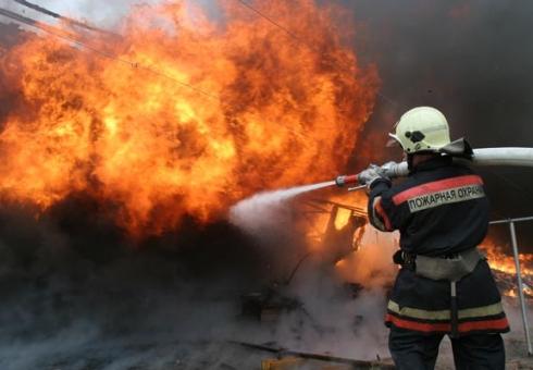 Саратовец пострадал напожаре вдеревянном доме