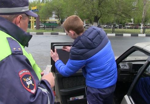 Работники ГАИ выявили неменее 1,2 тыс нарушений правил тонировки завыходные